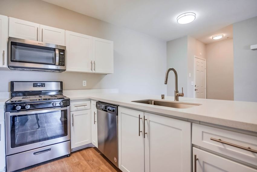 Upscale Stainless Steel Appliances at The Villas at Towngate, Moreno Valley, CA